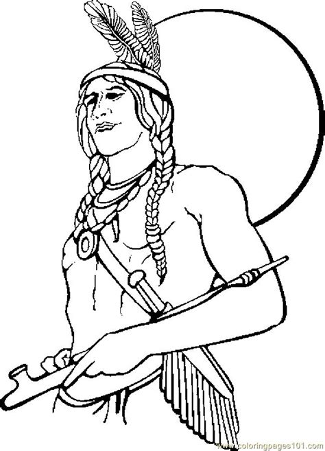 native american coloring pages for children az coloring