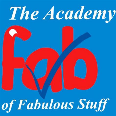 the stuff the academy of fab stuff