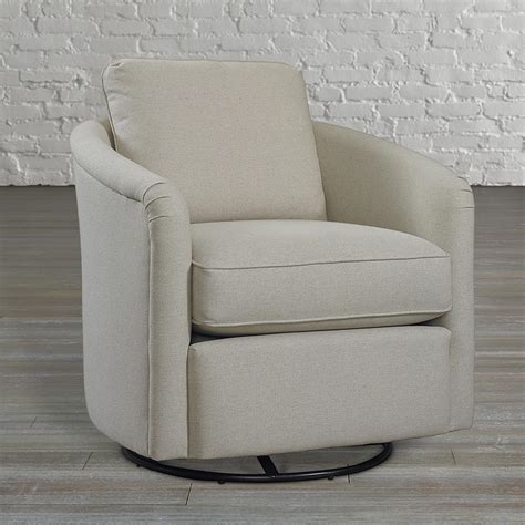 Traditional Upholstered Tub Swivel Glider Chair Tub Swivel Chair