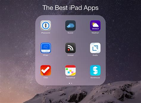 Two Apps The Best Apps For Your New Air 2 Or Mini 3