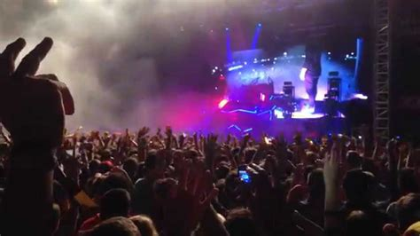 skrillex cinema remix skrillex cinema remix live garorock 2014 youtube