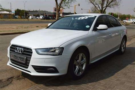 Audi A4 Tdi 2012 by 2012 Audi A4 2 0 Tdi Se Multitronic Cars For Sale In