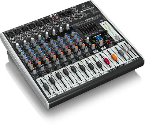 Mixer Audio Behringer Xenyx X1222usb x1222usb analog mixers behringer categories