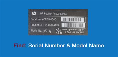 computer serial how to find computer serial number and model name
