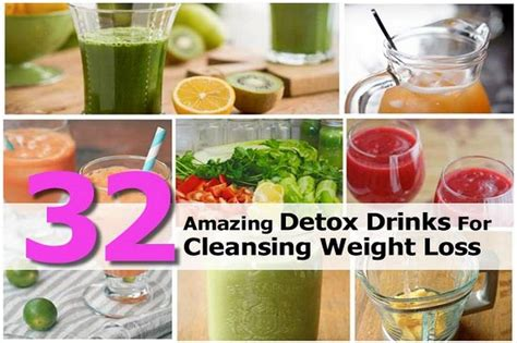 Sle Detox Diet Weight Loss by 32 Amazing Detox Drinks For Cleansing Weight Loss