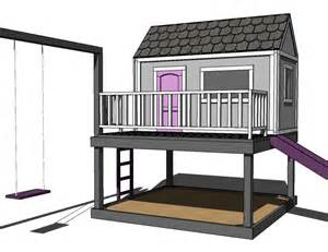 Diy Playhouse Plans by Build It Yourself Playhouse Plans 187 Woodworktips