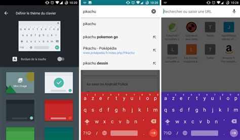 theme google hearthstone google keyboard 5 1 est disponible sur le play store avec