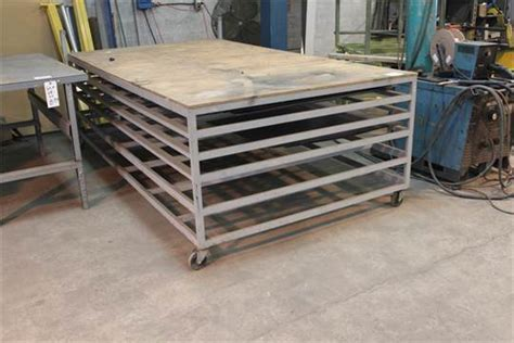 sheet metal bench sheet metal bench 108 quot lx60 quot wx35 quot h