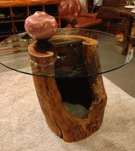 how to a table from a tree reclaimed wood dining table made from hollow tree