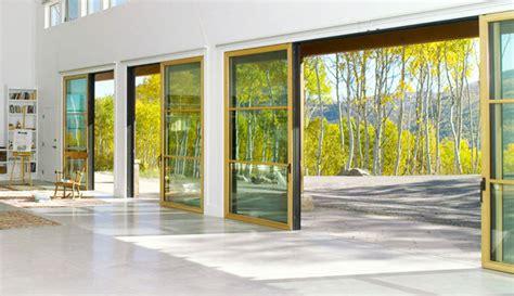 Wall Of Glass Doors St Louis Glass Wall Doors Folding Patio Doors By Wilke