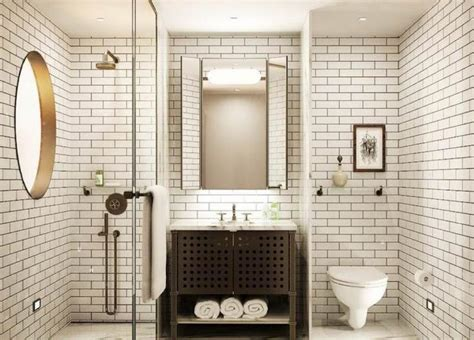 subway tile ideas subway tiles in 20 contemporary bathroom design ideas