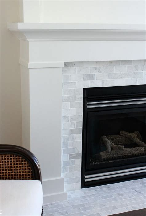 Painting Tile Fireplace Surround by Best 25 Fireplace Tile Surround Ideas On