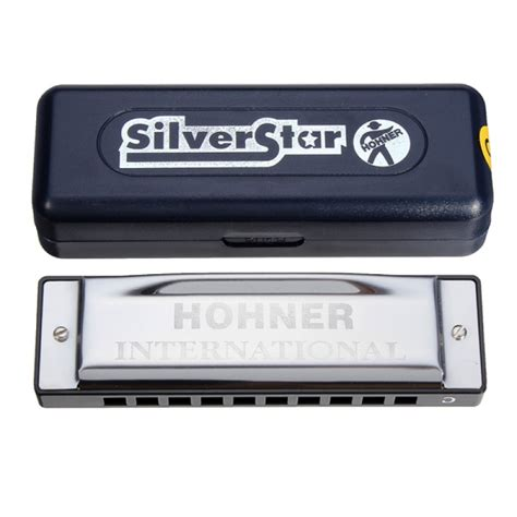 buy hohner silver star 10 holes blues harmonica c notes