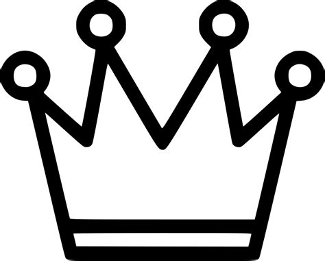 queen chess game playing crown svg png icon