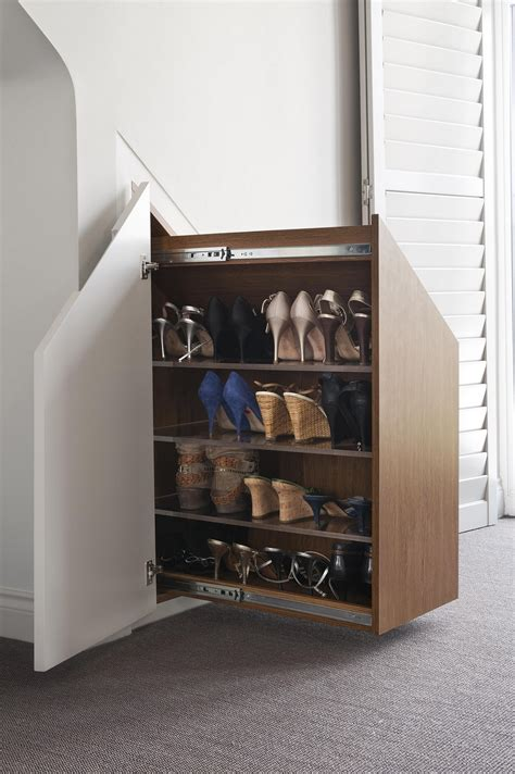 built in shoe storage wall shoe rack clever ways to store your shoes