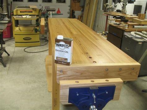 large work bench workbench top is butcher block necessary work bench