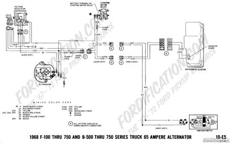 67 ford alternator wiring diagram wiring diagram with