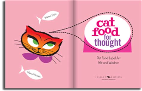 witty cat food cat food for thought warren dotz