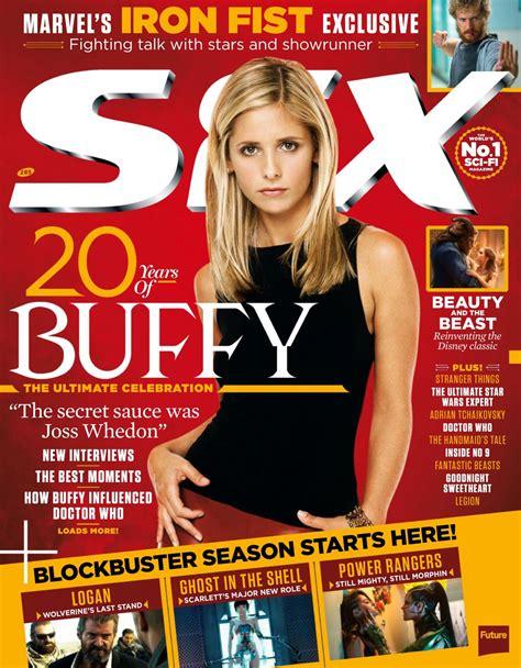 Magazine May 2017   sarah michelle gellar sfx magazine may 2017 issue