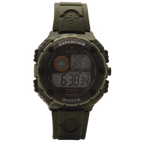 Expedition E6678m Green Yellow timex t49614 expedition yellow diver s
