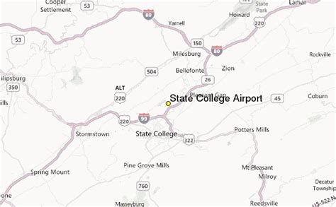 state college pennsylvania map state college airport weather station record historical