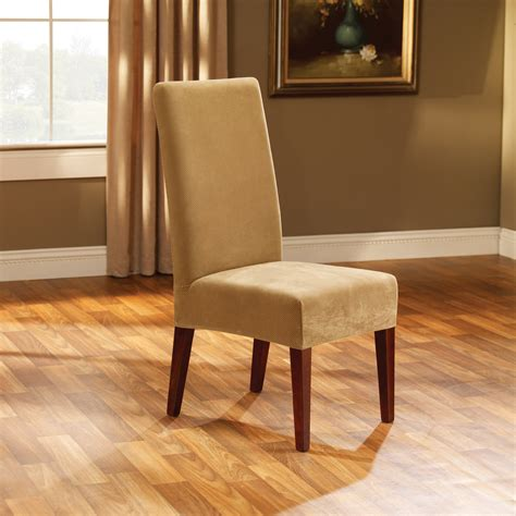 Slipcovers Chair by Sure Fit Stretch Pique Dining Room Chair Cover