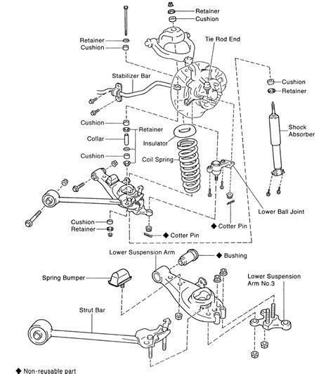 Lower Arm Yaris Kwalitas Oem 07 repair guides 2wd front suspension lower arm