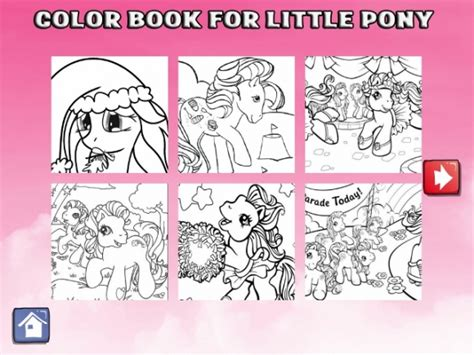 my pony coloring book review my pony coloring book app review apppicker