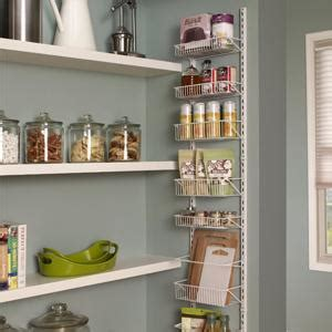 closetmaid spice rack closetmaid 1233 adjustable 8 tier wall and