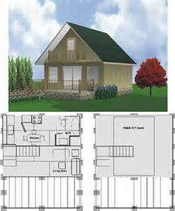 2 Story Cabin Plans Cottage Plans Floor Plans Two Story House Kvriver Com