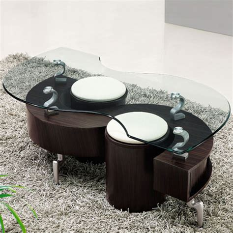 Buy Coffee Table Uk Lucca Contemporary Glass Coffee Table In Brown Buy Coffee Tables Discount Coffee