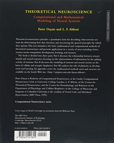 Theoretical Neuroscience Computational And Mathematical
