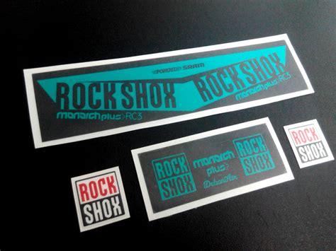 Rockshox Monarch Stickers by Stickers Rock Shox Monarch Plus Rc3 2016 Eco06b Stickers