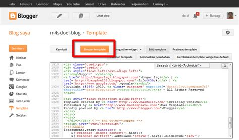 tutorial blogger blogspot cara membuat widget archive dengan scroll di blog