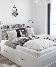 bett brimnes ikea bedroom the idea of shelves headborad and