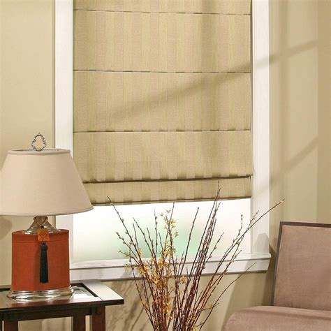 home window treatments roman shades blinds window treatments the home depot