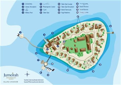 jumeirah resort map maldives complete resort profile