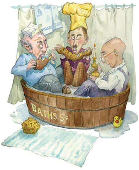 rub a dub three in a tub the dabbler