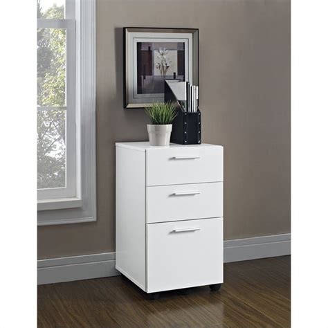 home office furniture file cabinets altra furniture princeton mobile file home office white