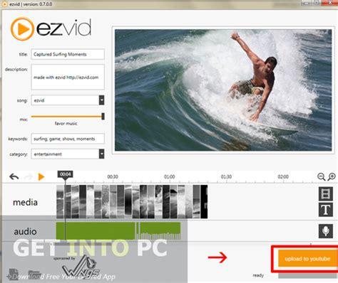ezvid free video editing software full version ezvid movie maker free download