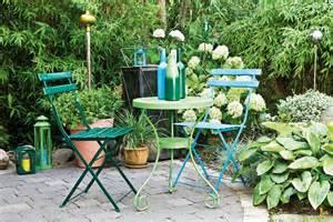 peindre les meubles de jardin