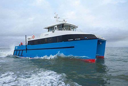 catamaran research ship incat crowther launches new 24m catamaran scientific
