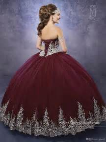 burgundy quinceanera dresses best 25 quinceanera dresses ideas on
