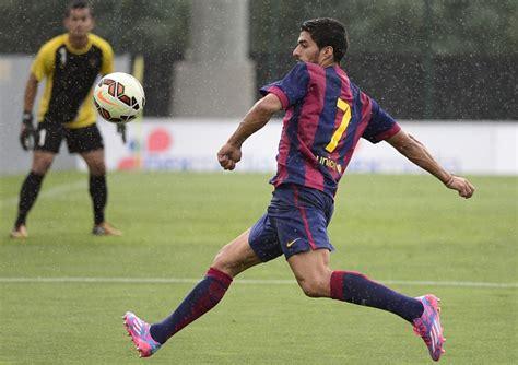Barcelona Goal Indonesia | video luis suarez and thomas vermaelen score for