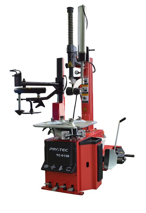 tc  tire changer  dual assist arm assembly protec equipment canada