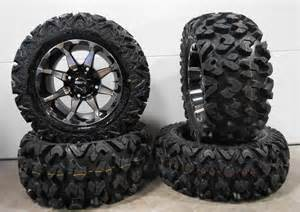 Tires And Rims Polaris Ranger Sti Hd6 14 Quot Wheels Machined 26 Quot Rip Saw Tires Polaris