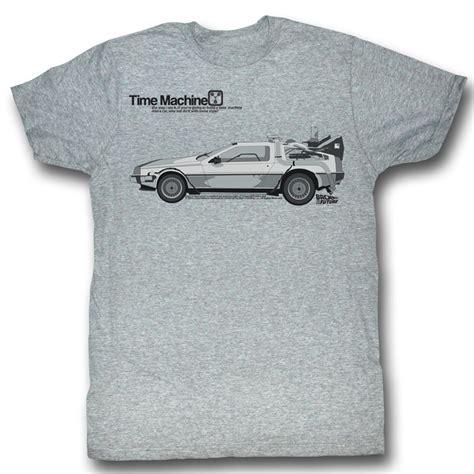 Tees Kaos T Shirt Future back to the future shirt delorean grey t
