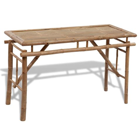 folding picnic bench set vidaxl co uk vidaxl bamboo folding picnic table