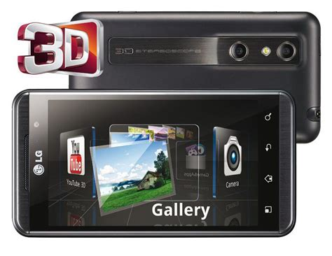 Hp Lg Optimus Zone 3 techzone lg optimus 3d review features and specifications