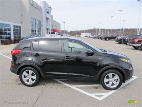 2012 Kia Sportage Awd Black Cherry 2012 Kia Sportage Lx Awd Exterior Photo